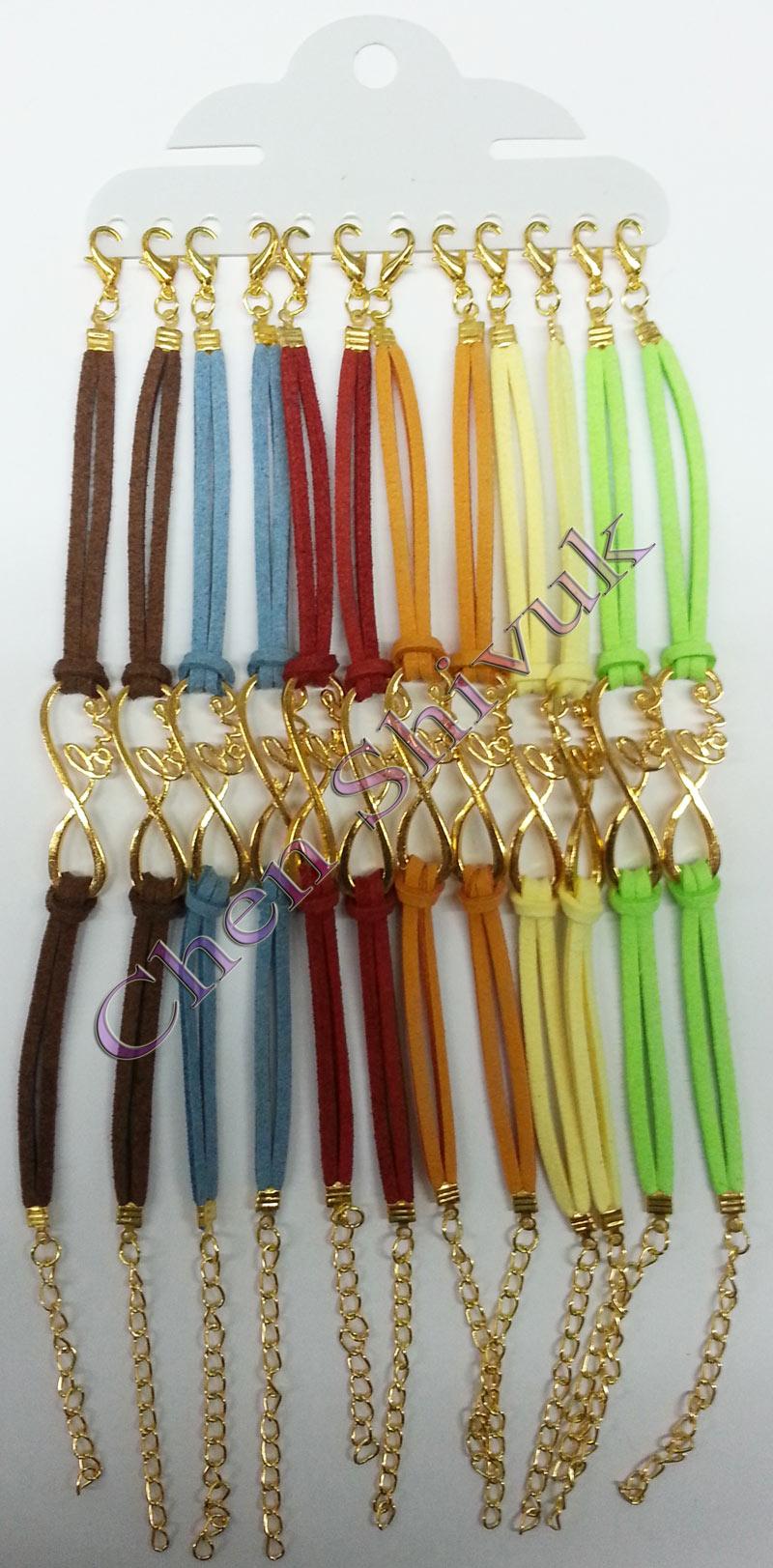 צמיד-אינפינטי-עם-LOVE-צבע-זהב