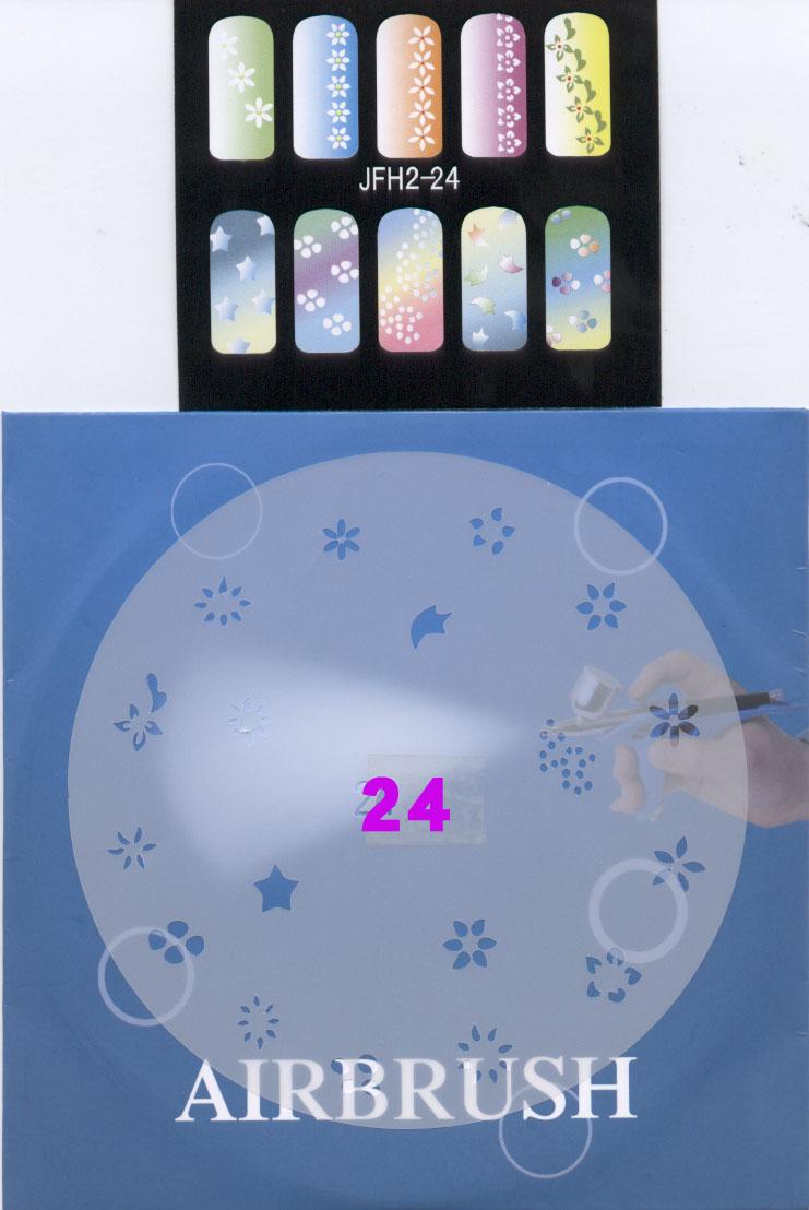 שבלונות ציפורניים מס' 24