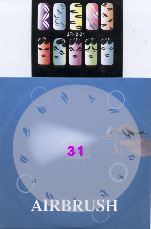 שבלונות ציפורניים מס' 31