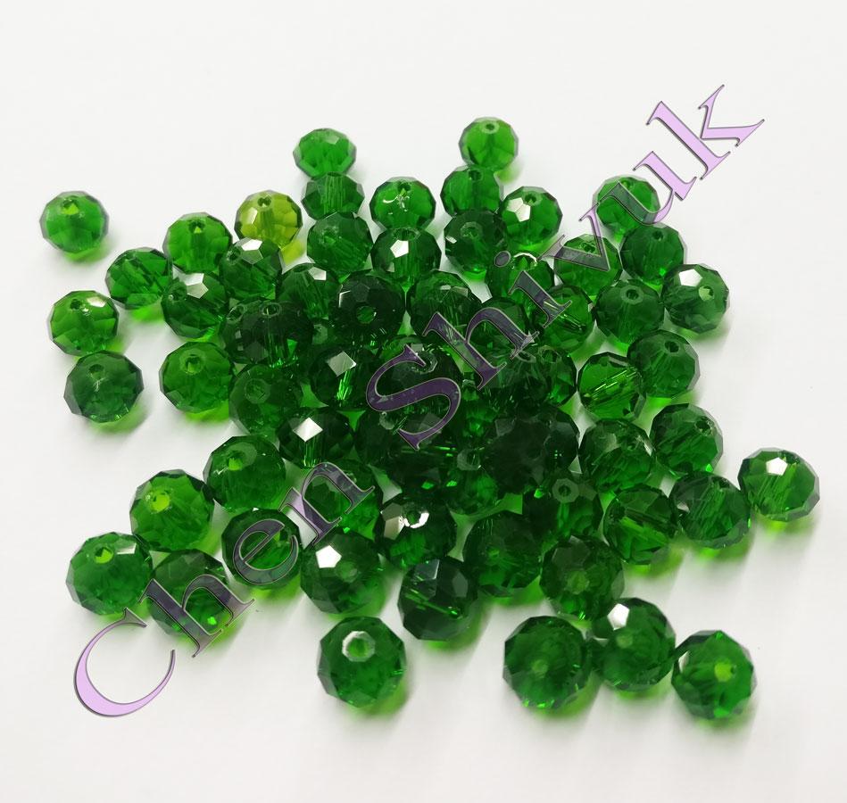 חרוז-קריסטל-שקוף-8ממ-ירוק