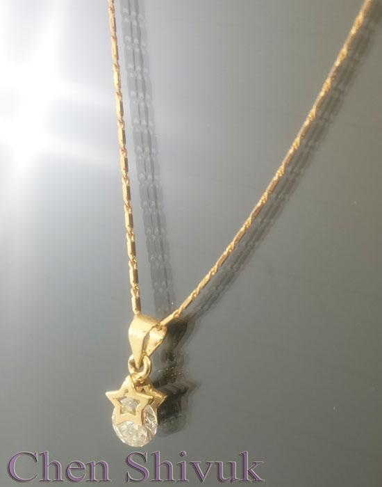 שרשרת-גולדפילד-כוכב-זירקון