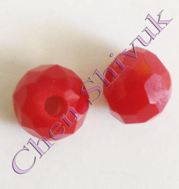 חרוז-קריסטל-אדום-זכוכית