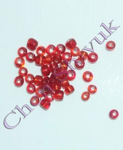 חרוז-זכוכית-שקוף-מראה-4ממ-אדום