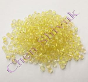חרוז-זכוכית-שקוף-4ממ-צהוב
