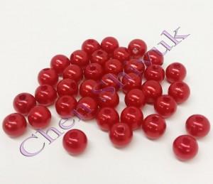 חרוז-פנינה-8ממ-אדום