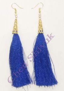 עגיל-חוטים-כחול-מעוטר-13.5
