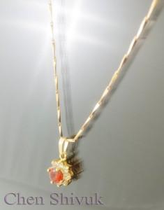 שרשרת-גולדפילד-אבן-אדומה