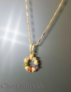 שרשרת-גולדפילד-עיגול-זרקונים-בצבעים
